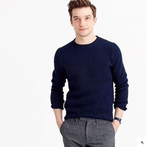 *FOREST GREEN* J.Crew 100% cotton Sweater